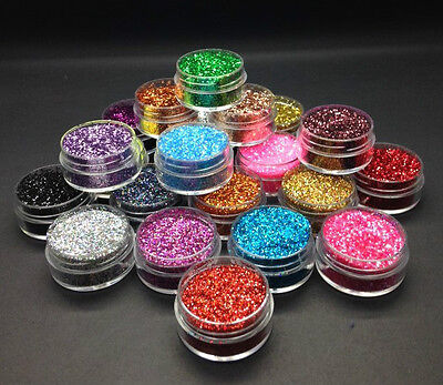 100g Premium Quality Glitter - Over 25 colours - Iridescent Holographic