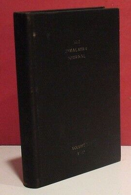 The Himalayan Journal - Volume 9 - 1937 - Records of the Himalayan Club -Everest