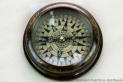 Compass - Moughul Brass Vintage Antique, camping essential