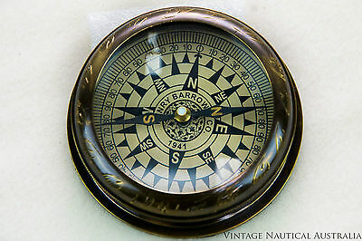 Compass - Moughul Brass Vintage Antique