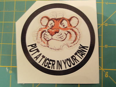 Lambretta Vespa Put A Tiger Tank Sticker Rb,gp,sx,tv,gs