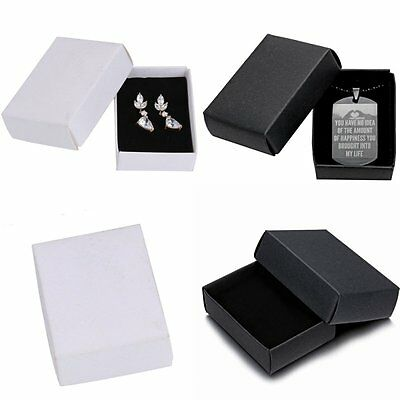 Wholesale Jewelry Gift Paper Boxes Ring Earring Necklace Watch Bracelet Box New