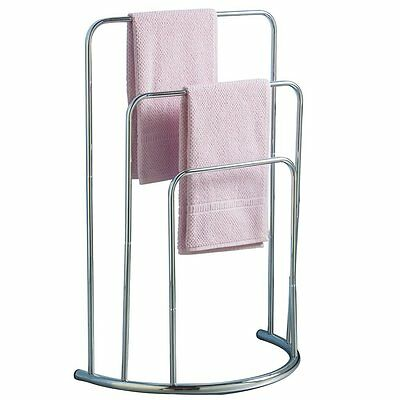 3 Rail Towel Stand Bow Fronted from Caraselle Bathroom Limited Edition Deluxe