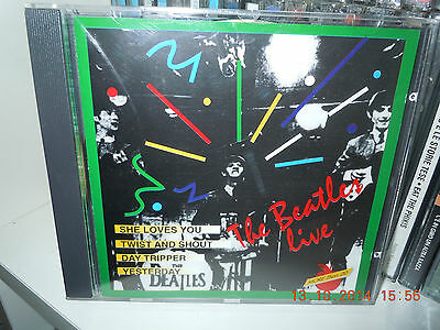 The Beatles Rare Cd Recorded Live Paris 1964 San Francisco 1966