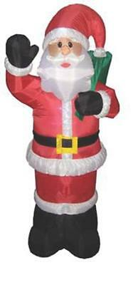 Santas Forest 90917 6 FOOT INFLATABLE SANTA WITH GIFT BAG 1.8M INFLABLE SANTA