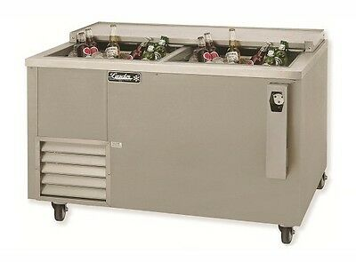 "48"" Commercial Bottle Cooler Deep Well Beer Cooler. Refrigerated (ETL NSF)"