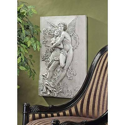 Cupid and Psyche Frieze Infamous Lovers Greek Roman Myth Wall Sculpture