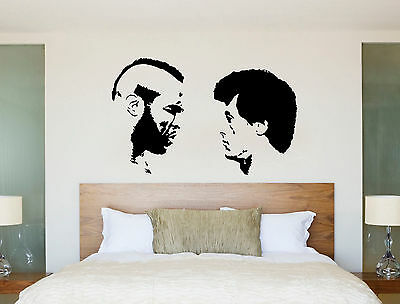 Boxing Rocky Balboa MR T Film Gym Studio Wall Art Bedroom Sticker