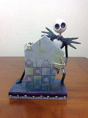 Jim Shore Nightmare Before Christmas The Pumpkin King Disney Traditions Showcase