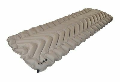 Klymit Insulated Static V Recon Inflatable Ultralight Hiking Mattress - Coyote/S
