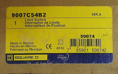 SQUARE D 9007C54B2 Rotary Limit Switch 9007 C54 B2