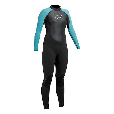Gul Junior Girls RESPONSE 3/2mm Wetsuit 2017 - Black/Turq