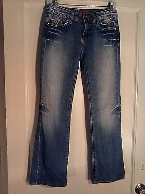 f366bb70eda Vigoss Studio Women's Blue Jeans Size 1 Cotton Spandex Pre-owned 28 X 30