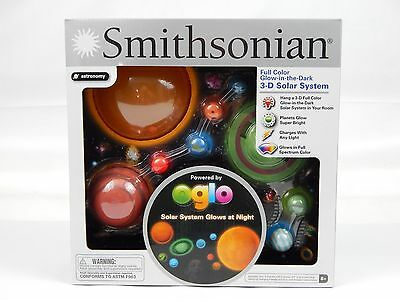 Smithsonian Full Color Glow-in-the-Dark 3-D Hanging Solar ...