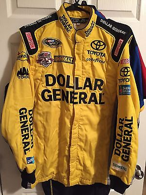 Matt Kenseth Dollar General 2015 Simpson Nascar Race Used Pit Crew Firesuit