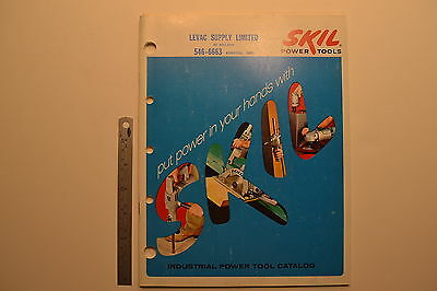 #J71 SKIL Indsutrial Power Tool Catalog 1968 Drill Saw Plane Router with Pricing