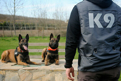 "K9 HANDLER VEST DOG TRAINING POLICE K9 SCHUTZHUND ""Free Shipping Worldwide"""