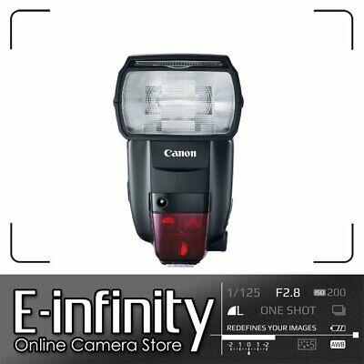 NEW Canon Speedlite 600EX II-RT Flash light Newest Version