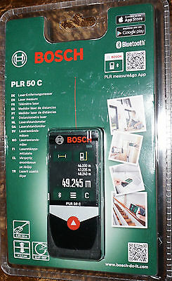 Bosch PLR 50 C Range Finder Laser Measure
