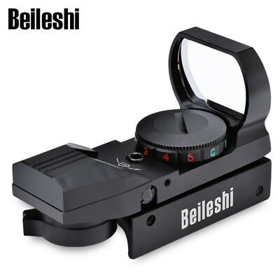 Tactical Holographic Reflex Red Green Dot Sight Scope Mount AUS
