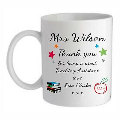 Personalised Teacher Aaa+ Mug/coaster End Of Term School Thank You Present Gift