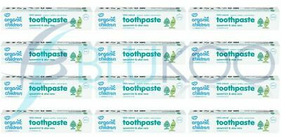 Green People Childrens Spearmint Toothpaste - 50ml (Pack of 12)