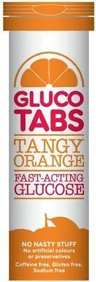 Glucotabs Tangy Orange Fast-Acting Glucose 40G - Pack Of 10