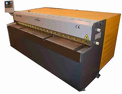 New Mantech 2500x3.2mm CNC Mechanical Metal Guillotine c/w E21S GoTo Control