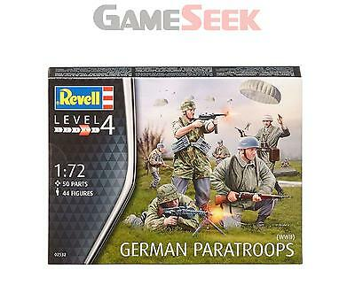 Revell German Paratroopers Wwii (1:72 Scale)