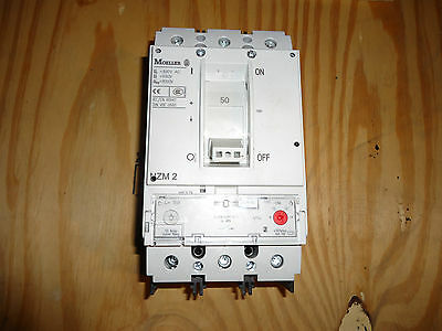 Eaton  Nzm2  600V-50A Cat#nzmb2-S50-Bt-Cna New