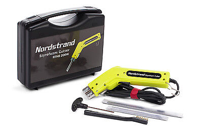 200W Nordstrand Electric Hot Knife Styrofoam Polystyrene Thermal Cutter + Blades