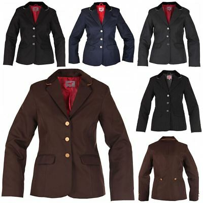 Red Horse Elite Girls Concours Comfort Show Jumping Riding Competition Jacket