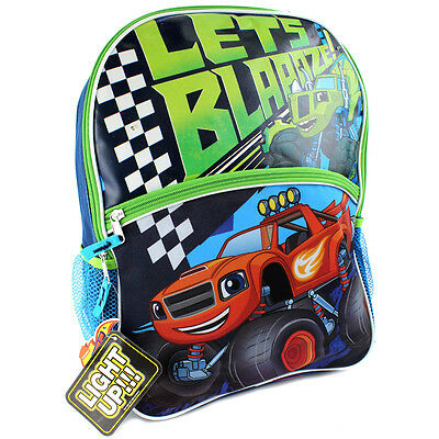 Blaze and The Monster Machines 16 inch Light Up Backpack KAB27185028