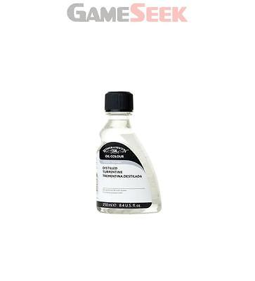 Winsor and Newton 250ml English Distilled Turpentine