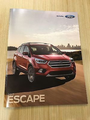 2017 FORD ESCAPE 32-page Original Sales Brochure