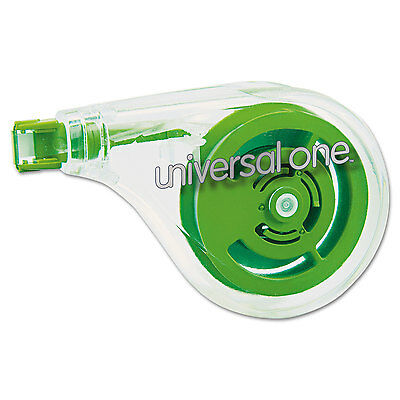 "Universal One Sideways Application Correction Tape 1/5"" x 393"" 2/Pack 75609"