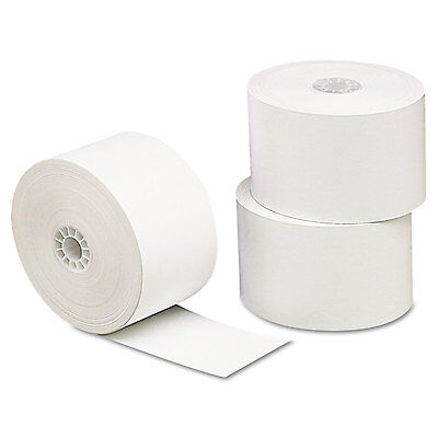 """UNIVERSAL Single-Ply Thermal Paper Rolls 3 1/8"""" x 230 ft White 10/Pack 35712"""