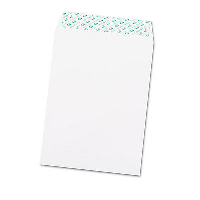 Quality Park Redi Strip Catalog Envelope 9 x 12 White 100/Box 44582