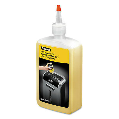 Fellowes Powershred Performance Oil 12 oz. Bottle w/Extension Nozzle 35250