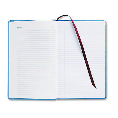 Adams Record Ledger Book Blue Cloth Cover 150 7 1/2 x 12 Pages ARB712CR1