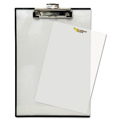 """Baumgartens Quick Reference Clipboard 1/2"""" Capacity 8 1/2 x 11 Clear TA1611"""