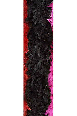 Hollywood Glamour Girl Child Feather Boa (Black)
