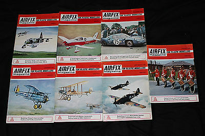 AIRFIX MAGAZINE For Plastic Modellers -  1969 - x 7 issues
