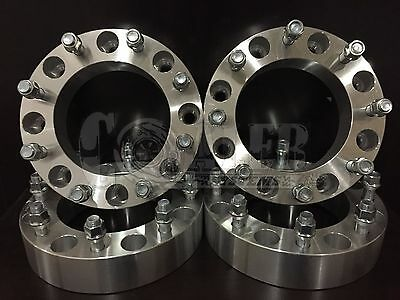 """4X 8x170 Wheel Spacers 1/"""" 25mm Heavy Duty Truck For 1999-2002 Ford F-250 2X4/&4X4"""
