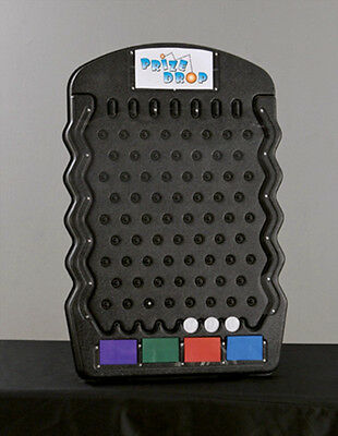 Black Mini Prize Drop Tradeshow Plinko Board Game