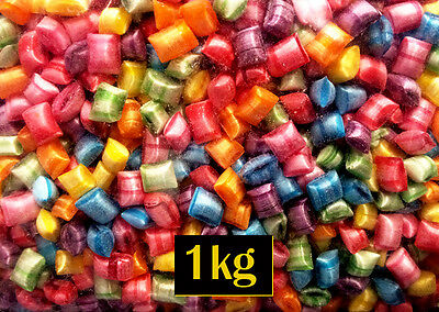 Tiny Tots Rock Candy Boiled Lollies 1kg Bulk for Lolly Buffet or Party