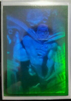 BATMAN 1995 ULTRA FLEER  METAL. HOLO CARD.  ROBIN.mint.RARE. 1 OF 4 CARDS
