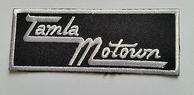 NORTHERN SOUL MUSIC TAMLA MOTOWN SEW ON b IRON ON PATCH: NORTHERN SOUL