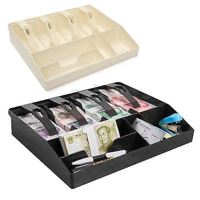 Cash Register Insert Tray Replacement Money Coin Cashier Drawer Storage Box