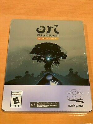 NEW Ori and the Blind Forest Limited Definitive Edition (PC, 2016) Steelbook